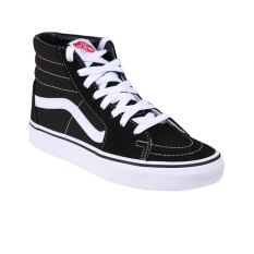 Vans U Sk8 Hi Shoes Black Black White Murah