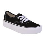 Review Vans Ua Authentic Platfor Black 2 Vans