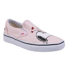 Jual Beli Vans Ua Classic Slip On Shoes Peanuts Smack Pearl