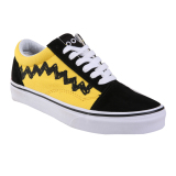 Jual Vans Ua Old Skool Shoes Peanuts Charlie Brown Black Murah Indonesia