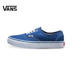 Vans Vn-0ee3blk Model Klasik Sepatu Sepatu Pria (Biru)