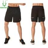 Vansydical Pria Fashion Sport Shorts Dengan Cepat Kering Menjalankan Kebugaran Dicetak Pendek Celana Intl Promo Beli 1 Gratis 1