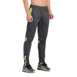 Jual Vansydical Pria Lengan Bergaris Zipper Ankle Diikat Kebugaran Menjalankan Celana Olahraga Grey Hijau Neon Di Tiongkok