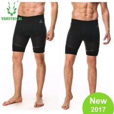 Ulasan Lengkap Vansydical Pria Swim Shorts Cepat Kering Breathable Printed Swimwear Kebugaran Renang Kompresi Beachwear
