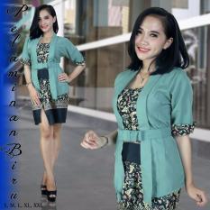 VantaOlshop Kebaya Kutubaru Minidress Elnira Warna Mustard Ready Size M L & XLIDR105000. Rp 105.000