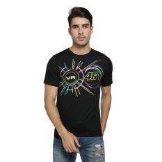 Vanwin - Kaos T-Shirt Distro / kaos Pria / Tshirt Pria / Distro Pria / Baju Pria Premium Moto GP VR 46 Line - Hitam
