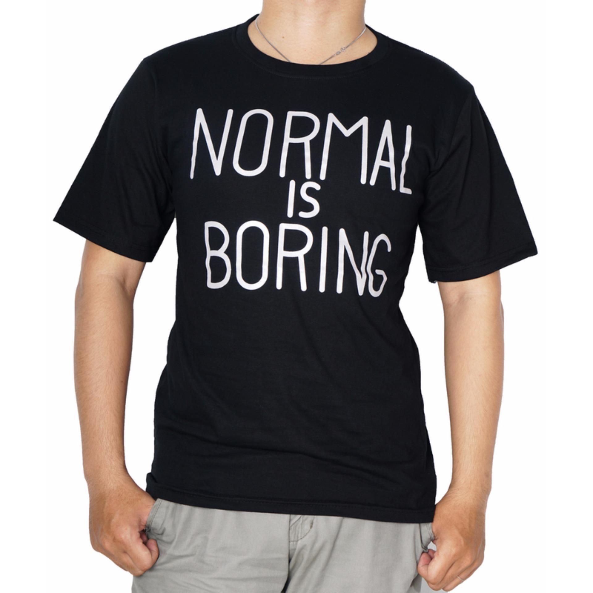 Pencari Harga Vanwin - Kaos Pria / T-Shirt Cowok / Tumblr Tee Normal Is