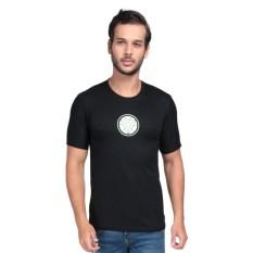 Vanwin - Kaos T-Shirt Distro Premium Avengers Iron Man Logo - Hitam