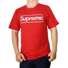 Vanwin - Kaos T-Shirt Distro / kaos Pria / Tshirt Pria / Distro Pria / Baju Pria Premium Supreme - Merah