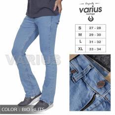 Katalog Varius Celana Jeans Cutbray Biru Muda Pria Terbaru