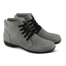 Review Pada Varka Sepatu Boot Casual Sneakers Wanita 197 Abu