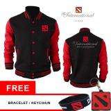 Harga Varsity Dota2 Black Red Original