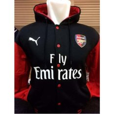 Beli Varsity Hoodie Arsenal A 921 Jumper Meriam London The Gunners Merah Baru