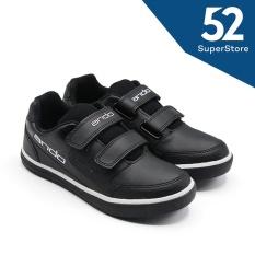 Vector  (Velcro) AB - Hitam/Putih size 34-37