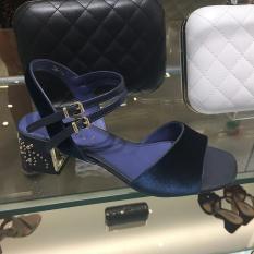 Velvet Strap Rotelli Sandal