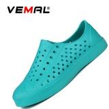 Jual Vemal Pria Busana Kasual Mesh Bernapas Sneaker Slip On Lazy Sepatu Sandal Pantai Flip Flops Sandal Hijau Intl Online Di Tiongkok