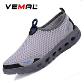 Toko Vemal Wanita Sepatu Atletik Breathable Mesh Sport Casual Sneakers Running Shoes Cahaya Abu Abu Intl Lengkap