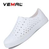 Jual Vemal Women Fashion Casual Mesh Breathable Sneaker Slip On Lazy Shoes Sandals Beach Flip Flops Slippers White Intl Branded