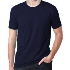 Toko Jual Verboten Kaos T Shirt O Neck Lengan Pendek Biru Navy
