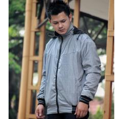 Beli Verboten Jaket Pria Bolak Balik Mens Jacket Double Layer Hoodie Premium Mayer And Fleece Grey Cicilan