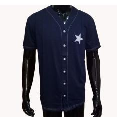 Cara Beli Verichi Kaos Baseball Pakaian Harian Untuk Santai Atasan Pria Simple Sporty Gambar Bintang Ukuran M Fit To L Sablon Depan Belakang Warna Navy