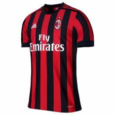VERICHI - Jersey Bola Replica Shirt Jersey Home Ac Milan Ukuran S M L XL Elegant Murah