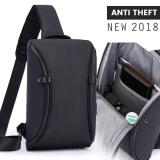 Cara Beli Vernyx Mens Anti Theft Bag Tas Selempang Pria Anti Maling Blackbox Tsj397
