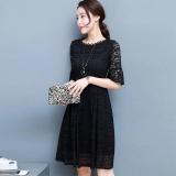 Jual Versi Korea Baru Dari Slim Baju Lengan Kelima Merah Baju Wanita Dress Wanita Gaun Wanita Baru