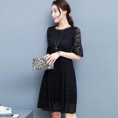 Beli Versi Korea Baru Dari Slim Baju Lengan Kelima Merah Baju Wanita Dress Wanita Gaun Wanita Oem Dengan Harga Terjangkau