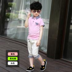 Toko Kebugaran Korea Fashion Style Anak Laki Laki Baru Musim Panas Anak Anak Pakaian Anak Anak Merah Muda Merah Muda Termurah Di Tiongkok