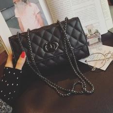 Spesifikasi Tas Rantai Berlian Mini Korea Perempuan Hitam Hitam Yg Baik