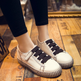 Toko Korean Style Flat Spring New Style Baymini Shoes Shoes Putih Murah Tiongkok