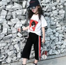 Kaos Kulot Modis Gadis Model Musim Panas Baru (Kaus Jas)