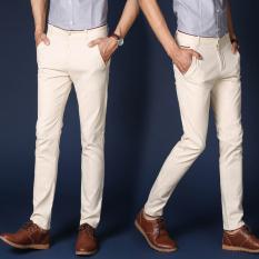 Jual Versi Korea Dari Hitam Laki Laki Laki Laki Celana Panjang Pria Celana Kasual Nasi Putih Celana Pria Celana Panjang Pria Celana Chino Celana Cargo Termurah