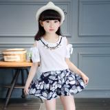 12 Celana Pendek Korea Fashion Style Katun Baru Anak Anak Biru Tua Murah