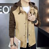 Jual Versi Korea Dari Kapas Berkerudung Bagian Tipis Jaket Jaket Khaki Jaket Pria Jaket Jeans Jaket Denim Oem Ori