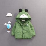 Jual Versi Korea Dari Kapas Laki Laki Bayi Kecil Jaket Bayi Mantel Hijau Murah