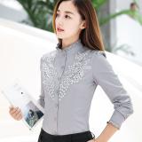 Jual Kemeja Putih Lengan Panjang Kemeja Korea Fashion Style Katun Hgh6032 Abu Abu Murah Di Tiongkok