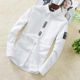 Jual Kemeja Kerja Putih Lengan Panjang Pria Gaya Korea 399 Cs802 Putih 399 Cs802 Putih Tiongkok