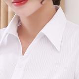Jual Versi Korea Dari Katun Lengan Panjang Karir Overall Kemeja Putih No 1 Putih Lebar Lengan Pendek No 1 Putih Lebar Lengan Pendek Lengkap