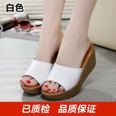 Sandal Wanita Korea Fashion Style Sendal Wanita Modis Diluar Ruangan Putih Sepatu Wanita Sandal Wanita Promo Beli 1 Gratis 1