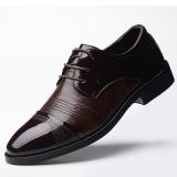 Beli Korea Fashion Style Tambah Beludru Musim Dingin Baru Sepatu Kulit Sepatu Pria Coklat 1792 Sepatu Pria Sepatu Kulit Sepatu Kerja Sepatu Formal Pria