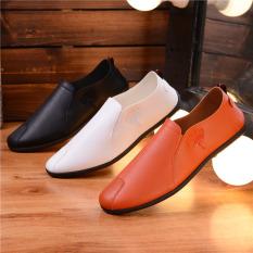 Beli Versi Korea Dari Musim Semi Baru Sepatu Peas Sepatu Oranye Online Murah