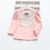 Jual Sayang Korea Fashion Style Kapas Musim Semi Dan Musim Gugur Model Musim Dingin Atasan Baju Dalaman Merah Muda Original