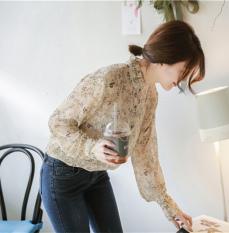 Jual Bunga Korea Fashion Style Musim Semi Dan Musim Gugur Jamur Baru Pakaian Wanita Sifon Kemeja Dicetak Kemeja Gambar Warna Gambar Warna Baju Wanita Baju Atasan Kemeja Wanita Oem Di Tiongkok