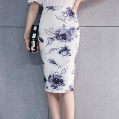 Ulasan Tentang Korean Style Female Spring And Summer New Style One Step Skirt Warna