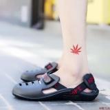 Harga Sepatu Pan Olahraga Pria Anti Licin Ukuran Besar Versi Korea Hitam Online
