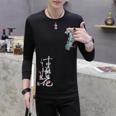 Harga Korea Fashion Style Musim Panas Slim Baju Dalaman Kaos Hitam New