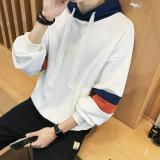 Harga Jaket Pullover Kaos Oblong Pria Versi Korea Putih Baju Atasan Sweter Pria Lengkap