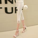 Jual Versi Korea Dari Slim Tipis Celana Pensil Kaki Celana Renda Model Putih Murah Tiongkok